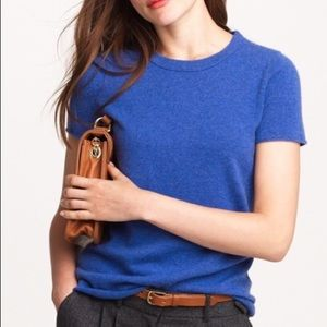 J. Crew Collection Italian Cashmere T- Shirt